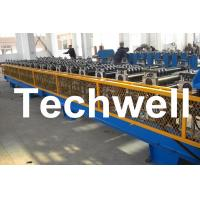 Quality 7.5KW High Speed Double Deck / Layer Roll Forming Machine With Automatic Hydraulic Cutting wholesale