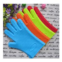 Quality five finger silicone gloves ,silicone oven mitt with five fingers wholesale