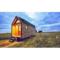 Quality Light Gauge Steel Structure Prefabricated Small Homes Full Kitchen With Stove wholesale