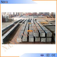 Quality Cold / Hot Rolled Steel Crane Rail , Crane Square Billet With High Strength wholesale