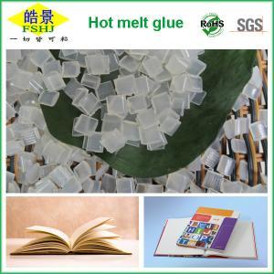 Quality Book Binding Hotmelt Polypropylene Glue Adhesive , Hot Glue Pellets Side Binding wholesale