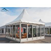 Quality European Aluminum Pagoda Tents With Glass Wall For Outdoor Event wholesale