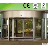 China Professional Flat / bent tempered glass Curved Sliding Door for Theatres on sale