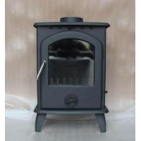China Artificial indoor wood cast iron fireplace on sale