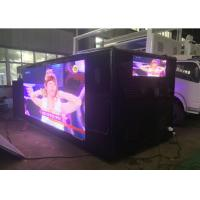 Quality Advertising Mobile Digital Billboard Truck , P5 / P6 Led Video Truck wholesale