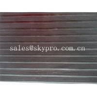 Quality Smooth / embossed Surface heavy duty Rubber Sheet Roll , 2.5mm-20mm Thickness wholesale