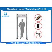 Quality UB500 Walk Through Metal Detector 5 Digital Counter With Fireproof Material wholesale