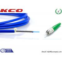 Quality SM FC to FC Fiber Optic Patch Cord Simplex 12 Cores For FTTH LAN Armored wholesale