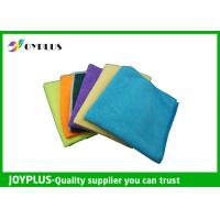 Quality Different Size Microfiber Cleaning Cloth Disposable Cleaning Cloths Easy Wash wholesale