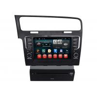 Quality Portuguese Hebrew Volkswagen GPS Navigation System Dual Zone Car Video GPS for Golf7 wholesale