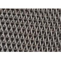 Buy cheap Flat Wire Spiral Mesh Balanced Weave Belt For Building Decoration from wholesalers
