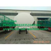 China 30000L 3axle aluminum or stainless steel water milk or oil tank tanker semi trailer on sale