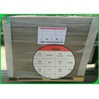 China Folder Cover Grey Cardboard Sheets 1mm 2mm 2.5mm Thick With High Smoothness on sale