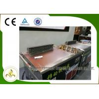 Quality Electromagnetic Mobile Teppanyaki Grill Table Stainless Steel Smoke Down Exhaust wholesale