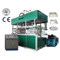 Buy cheap Disposable Molded Fiber Paper Cup / Food Tray Pulp Making Machine 14000Pcs / H product