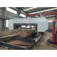 Quality Log Band Sawmill Large Wood Saw Heavy Duty Saw Mill Machine For Hard Timber wholesale
