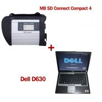 Quality Wireless MB SD C4 Mercedes Benz Diagnostic Tool With Dell D630 Laptop Ready to Use wholesale