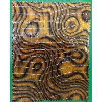 Quality Printed Pattern PVC Leather Cloth Abrasion Resistant Waterproof for Decorative wholesale