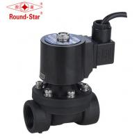 Quality Waterproof PA66 Plastic Fountain Solenoid Valve , 2 Way Solenoid Valve Ip68 Underwater wholesale