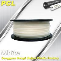 Quality Low Temperature Filament , PCL fFilament , 0.5kg/ roll ,1.75 /3.0mm. wholesale
