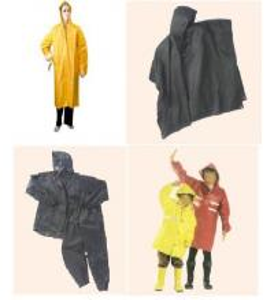Quality Various Yellow PVC Raincoat, Rainwears, PVC Rainsuit, Rain Jackets wholesale