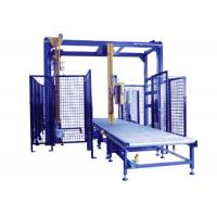 Quality Remote Control Pallet Stretch Wrapping Machine , Automatic Stretch Wrapper With Top Seet Dispenser wholesale