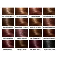 Quality Human Hair Color Ring Chart For Black Women High Temperature Fiber wholesale