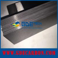 China custom made carbon fiber sheet on sale