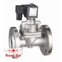 Quality SS High Pressure Solenoid Valve Normally Closed , 40mm Solenoid Valve Pilot Operated wholesale