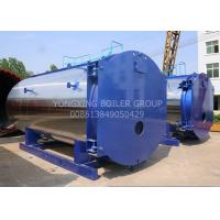 Quality WNS15ton 1.25Mpa New Design Low-nitrogen Condensing Gas Fired Steam Boiler For Industrial wholesale