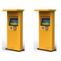 Buy cheap Banks Bill Payment Kiosk All in One / Cash Payment Kiosk Support Magcard , IC Card product
