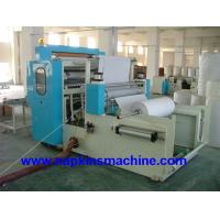 China Vacuum Absorbing M Fold Paper Towel Printing Machine , PLC Computer Controller on sale