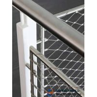 Cheap Stainless Steel X-Type Ferruled Mesh With SS316 for Architectural or Fencing for sale