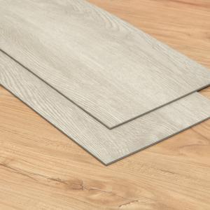 China White Oak Commercial Luxury Vinyl Tile Flooring 100% Virgin Raw Material Eco Friendly on sale