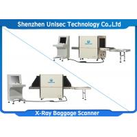 Quality Uniqscan X Ray Baggage Scanner Tunnel Size 650*500 Security Check Machine wholesale
