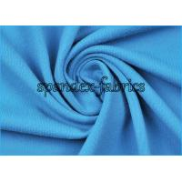 Quality 150D/40D Solid Blue Nylon and Spandex Fabric 87% Supplex 13% Spandex wholesale