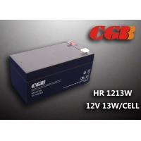 Quality HR1213W 12V 3.5AH High Rate Discharge Battery , Security Long Life Lead Acid Battery Rechargeable wholesale