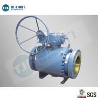 China High Pressure Trunnion Ball Valve with A105 Forged Steel for Oil Pipeline on sale