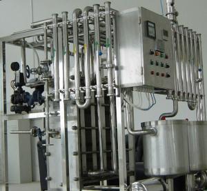 Cheap Ultra High Temperature Plate Juice & Milk Sterilizer UHT Pipe Sterilizer For Fruit Juice for sale