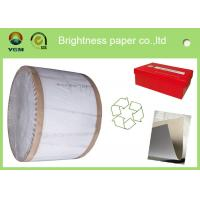 China Recycled One Side Coated Grey Back Duplex Board Paper Sheet 787 * 1092mm on sale