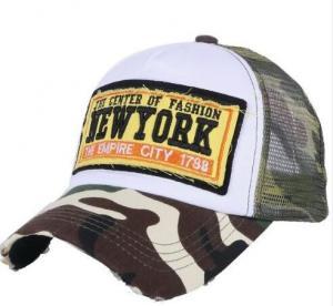 Quality Wholesale Women Men Summer Baseball Cap Custom Design Mesh Style Cool Girl Boy Fashion  Embroidery Hat wholesale