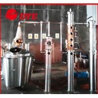 Quality Commercial Distilling Equipment , Alcohol Distillation Column wholesale