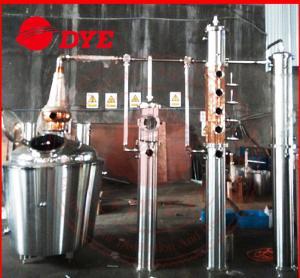 Quality 1300L Whisky / Brandy Copper Distillation Column , Vodka Distillation Kit wholesale