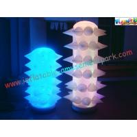 Cheap New Design LED Event Inflatable Lighting Balloon Decoration Tusk for Party for sale
