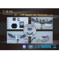 China Professional Ipl OPT SHR Hair Removal Machine For Bikini Area 2500W Customized Color on sale