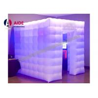 Cheap Inflatable Party Tent Picture Props For Parties , Wedding Photo Booth Hire for sale
