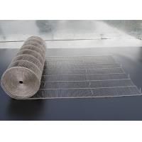 Buy cheap Food Grade Chocolate Enrober Stainless Steel Mesh Belt For Food Machine from wholesalers