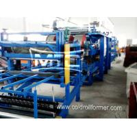 Quality EPS/Rockwool Insulated Sandwich Panel Production Line wholesale