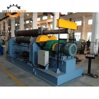 China Plc Controller Steel Plate Rolling Machine , Cone Rolling Machine High Speed on sale
