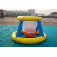 China Giant Inflatable Basketball Hoop For Pool , Children Airtight Blow Up Pool Floats on sale